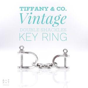 Tiffany & Co. Double Shackles Key Ring